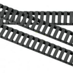 Couvre Rail Type Ladder Gomme ( pack de 4) - Noir - DUKE