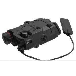 Boitier PEQ 15 Noir Laser et Lampe Tactique Emerson
