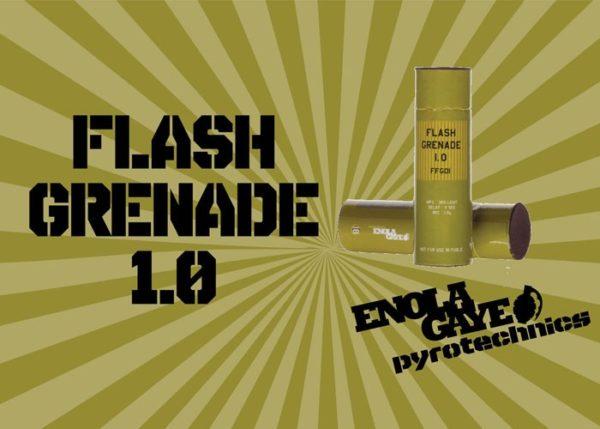 flash grenade éblouissante